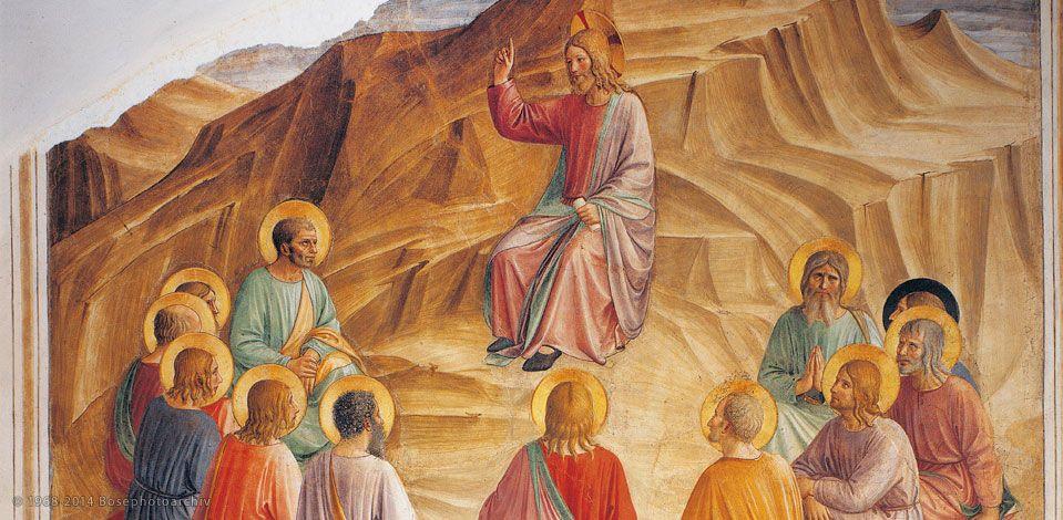 Gesù parla ai discepoli