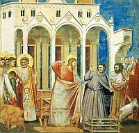 Gesù scaccia i mercanti mn