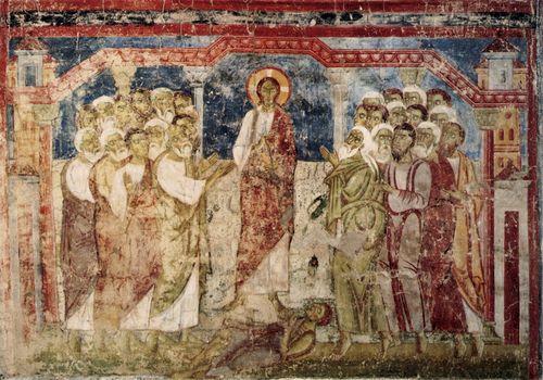 Gesù guarisce indemoniato
