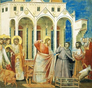 Gesù scaccia i mercanti