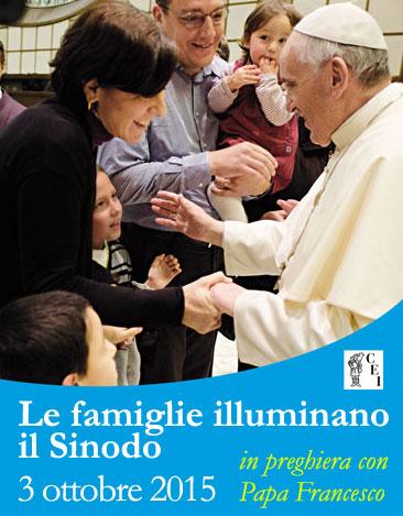 Le famiglie illuminano il Sinodo (locandina)