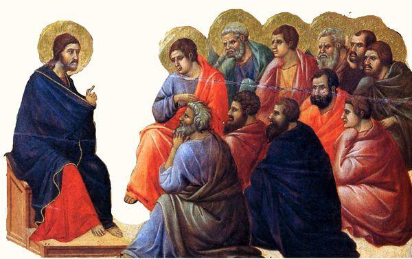 Gesù parla ai discepoli m
