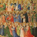 Solennità di Tutti i Santi -  i santi non sono i nostri santi  ma gli anonimi, la turba che Gesù con i suoi occhi osservava, trapassando forse i secoli, quando diceva: «Beati i miti, i facitori di pace…
