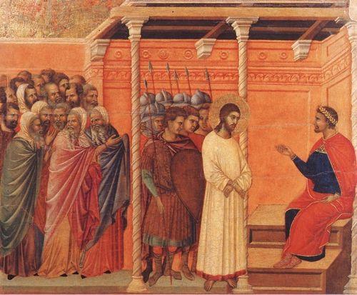 Gesù fdavanti a Pilato r