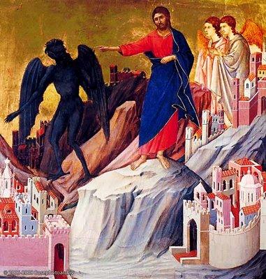 Gesù tentato nel deserto
