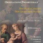 30 Dicembre 2017 - Ordinazione Presbiterale Don Paolo Cassaniti e Don Gioacchino Notaro