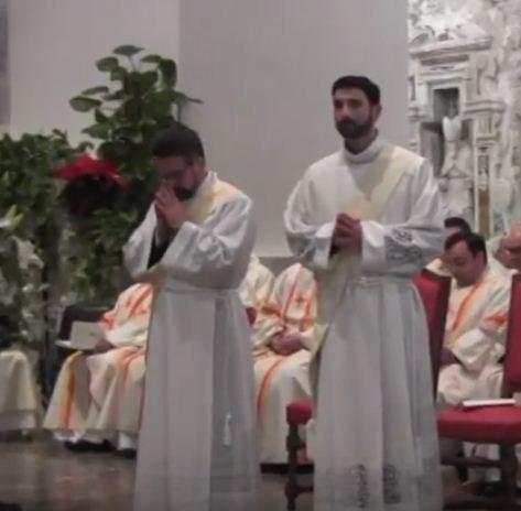 Omelia del nostro Vescovo Vincenzo - Ordinazione Sacerdotale  di Paolo Cassaniti e Gioacchino Notaro  Cattedrale 30 dicembre 2017