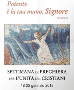 Settimana di Preghiera per l'unità dei Cristiani