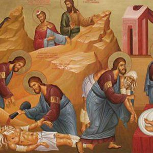 V Domenica del T.O. - Gesù è mandato dal Padre ed è uscito nel mondo per fare il bene e donare la salvezza.
