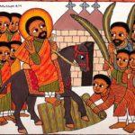 Domenica delle Palme - Gesù volle ricevere su di sé  tutte le violenze dell'odio, dell'incomprensione, affinché noi uomini ci perdonassimo, ci amassimo, ci sentissimo fratelli