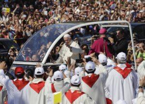 """Papa Francesco a Palermo  ... """"cronaca"""" di una visita d'amore"""
