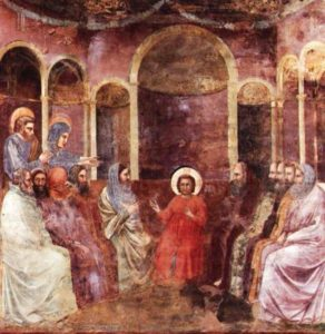 Santa Famiglia -  E'nella casa di Dio che possiamo incontrare il divino Maestro e accogliere il suo messaggio di salvezza.