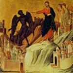 I Domenica di quaresima - Con il diavolo non si dialoga ... gli si risponde con la Parola di Dio !