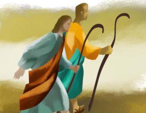 """XIV  Domenica del T.O. - Gesù consegna lo stile dell' """"ANDARE""""."""