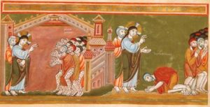 XXVIII Domenica del T.O. - LA SALVEZZA NON È NEL RITORNARE AI SACERDOTI, NELL'AVER TUTTI I CRISMI, È NELLA DISPONIBILITÀ A RICONOSCERE IL DONO RICEVUTO.