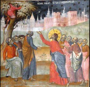 XXXI Domenica del T.O. - Come Gesù che entra a casa di Zaccheo .. siamo invitati a entrare in intimità col peccatore,nella sua casa, senza alcuna paura di comprometterci col suo peccato !