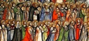 Solennità di Tutti i Santi - Dinanzi agli occhi di Dio i santi non sono i nostri santi ma gli anonimi, la turba che Gesù con i suoi occhi osservava, trapassando forse i secoli, quando diceva: «Beati i miti, i facitori di pace…»