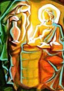 """III DOMENICA DI QUARESIMA - La fede nasce dall'ascolto"""" e dall'ascolto di Gesù è nata la fede della samaritana, dall'ascolto della samaritana è nata la fede della sua gente. E dalla fede procede la conoscenza, dalla conoscenza l'amore."""