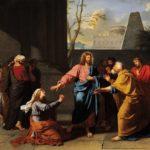 XX DOMENICA el T.O.  - In Gesù l'ascolto della sofferenza dell'altro fa parte della sua identità di Servo del Signore che si addossa fragilità e malattie delle moltitudini.