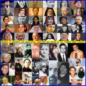 SOLENNITA DI TUTTI I SANTI - I santi sono i più umani tra gli uomini. Sono i pacifici, gli uomini inermi, coloro che hanno ripugnanza a far forza sull'uomo, coloro che sono gli sconfitti di oggi.