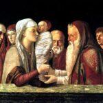 SANTA FAMIGLIA  -  Presentato al tempio, Gesù  non viene riscattato mediante il pagamento di una somma di denaro, perché è lui stesso il riscatto, «la redenzione di Gerusalemme»